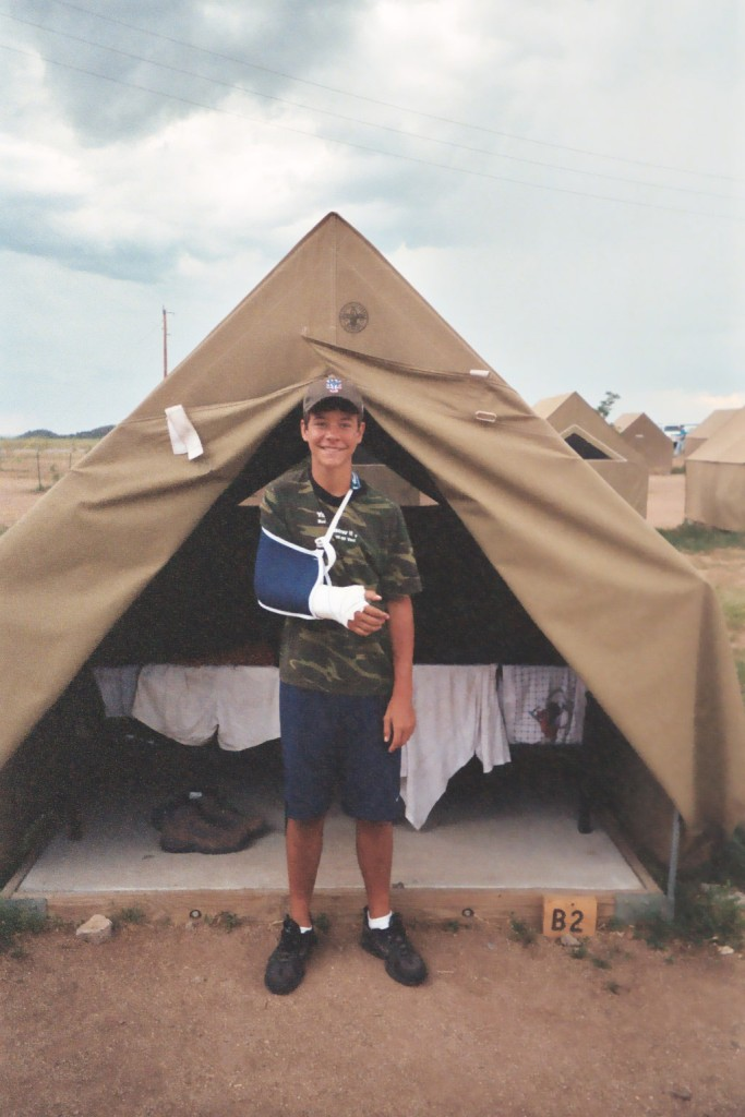 Justin in Philmont