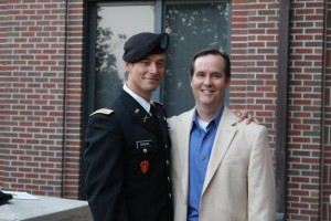 Lt Sisson and Dad